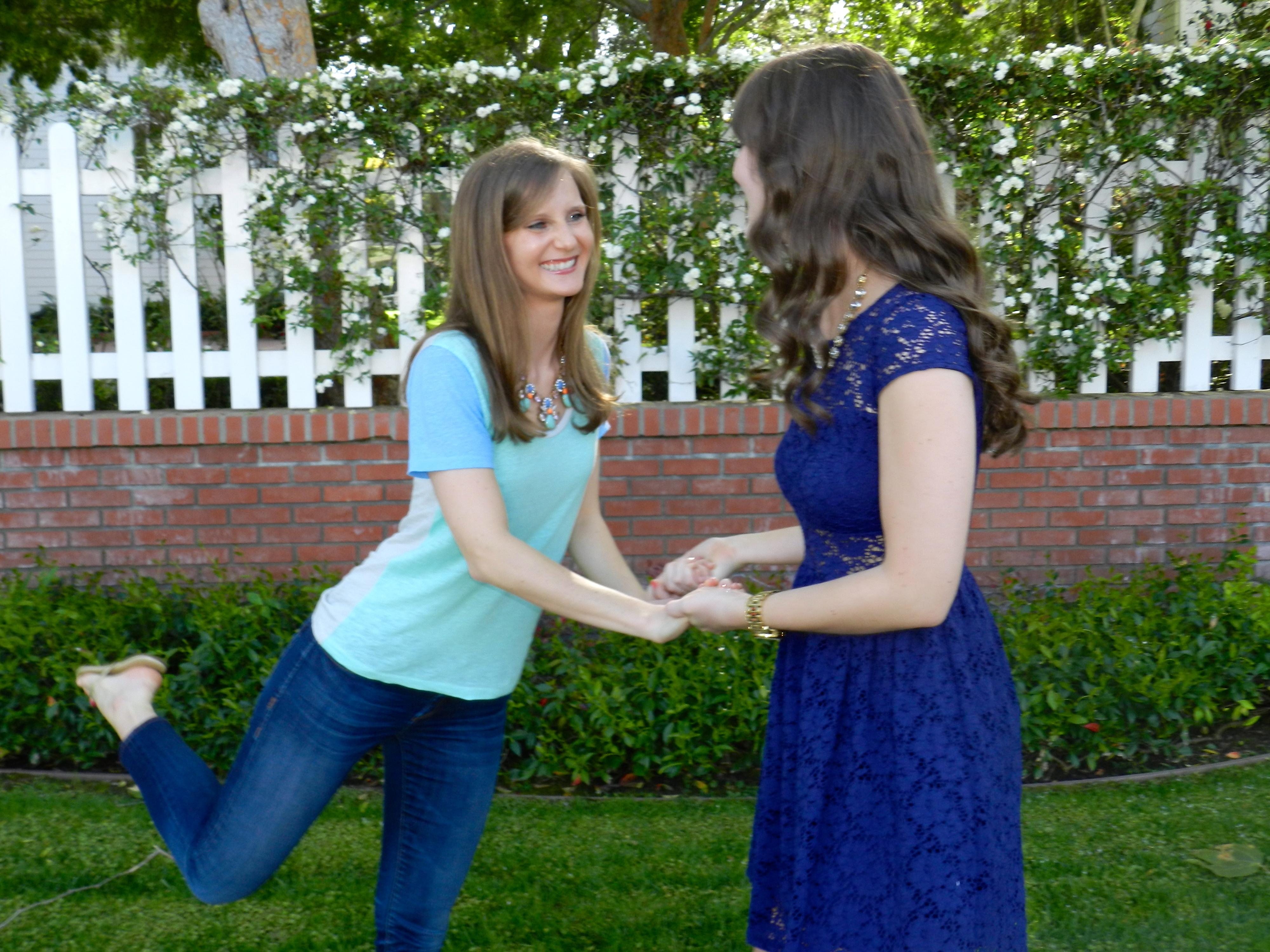 Emily and Caroline