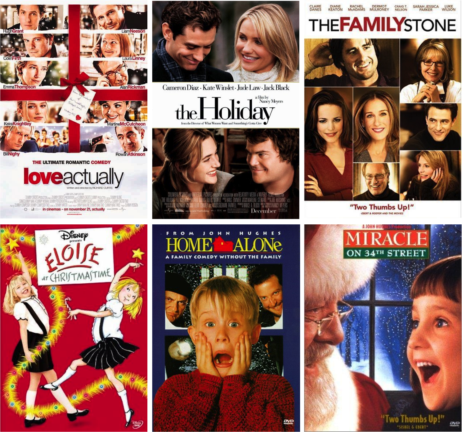 favoritechristmasmovies - Christmas Movies 2013
