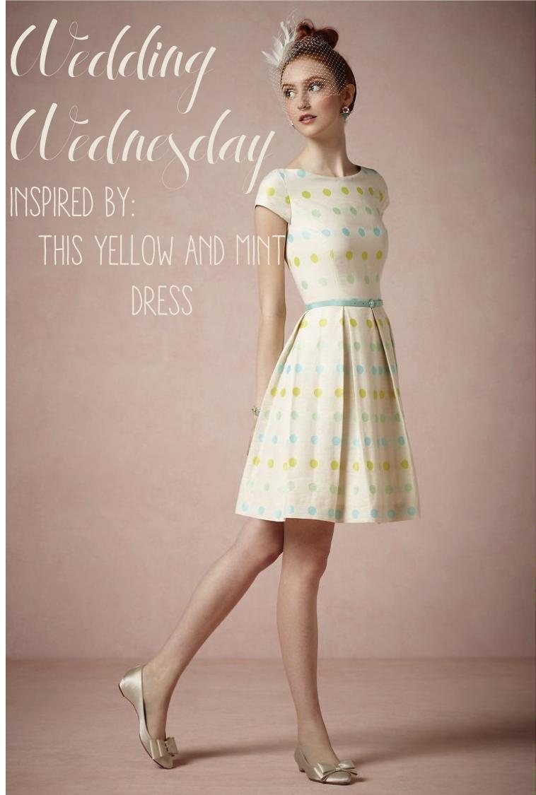 yellowandmintwedding