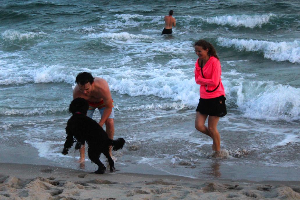 BeachSunsetSwim6