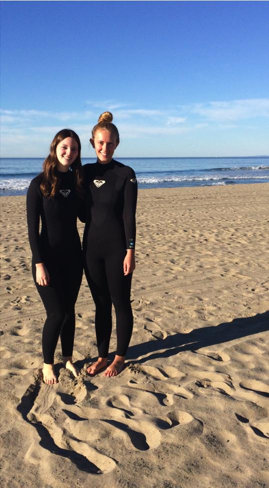 Caroline Surfing