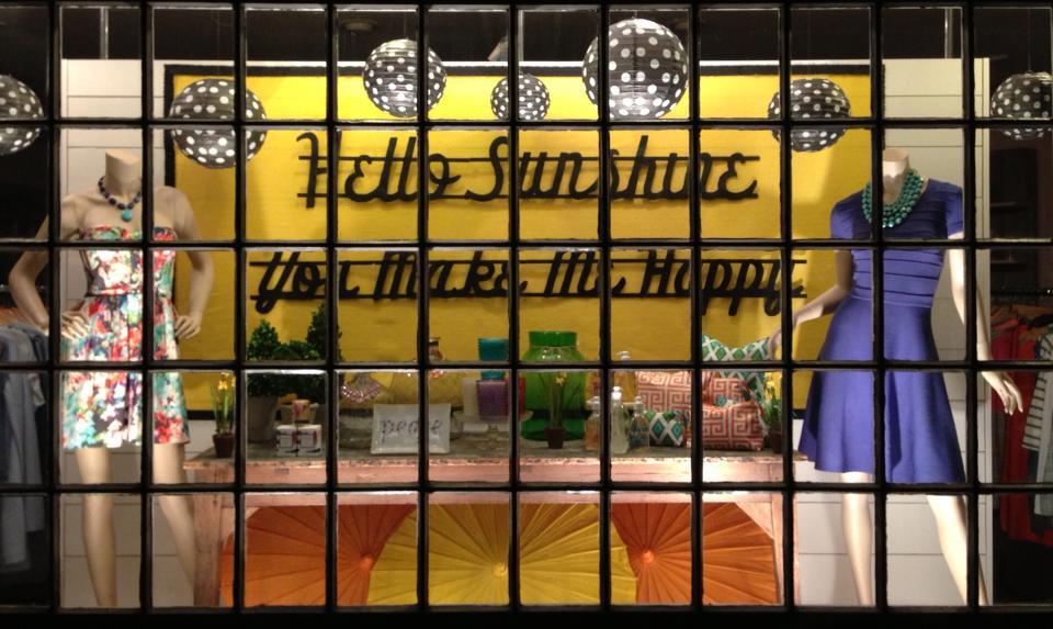 Daffy Window 2013