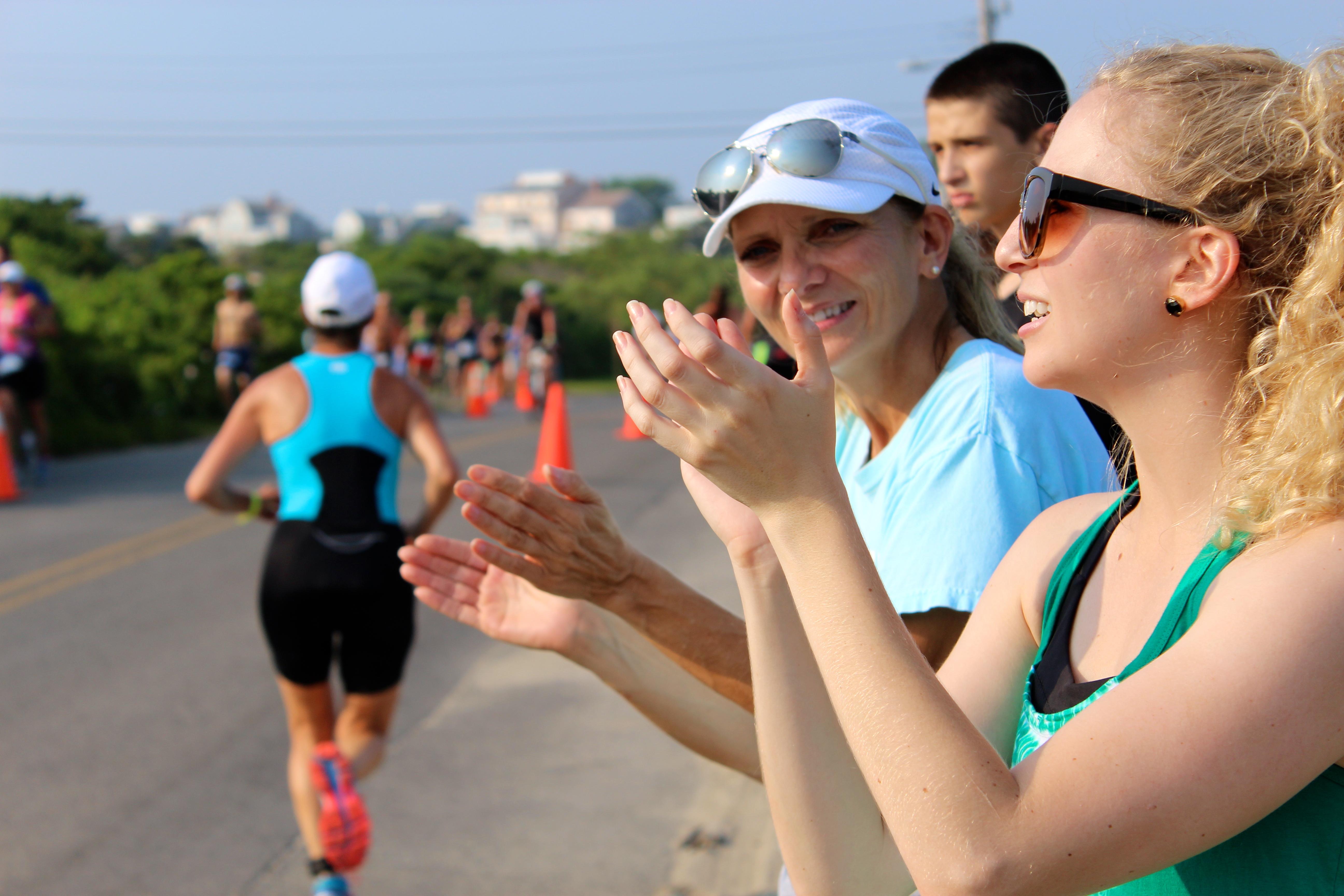 Nantucket Triatlon Cheering