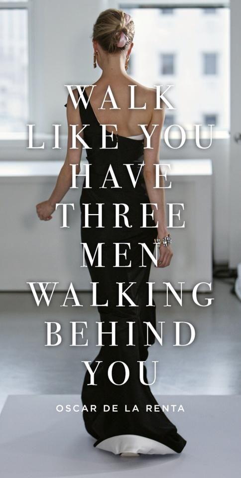 walk like quote