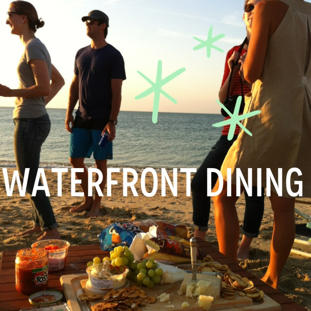 WATER FRONT DINING