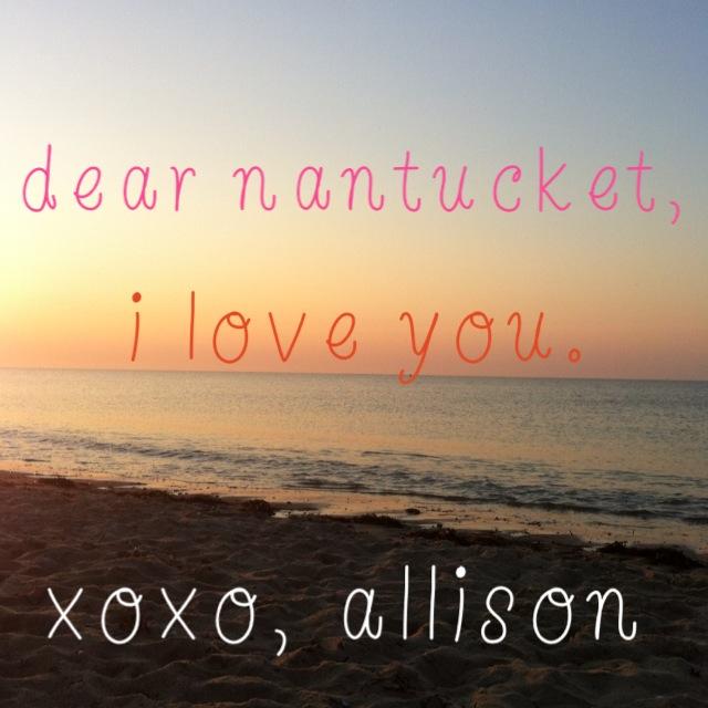i love you nantucket
