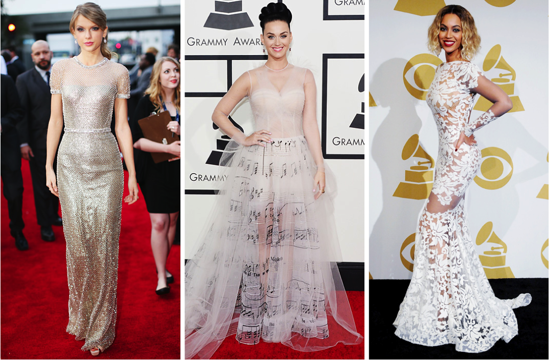 Allison's Top 3 - 2014 Grammy's Best Dressed