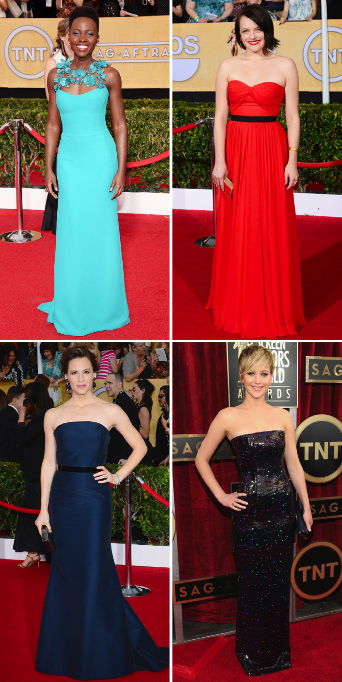 SAG AWARDS 2014 - Best Dressed