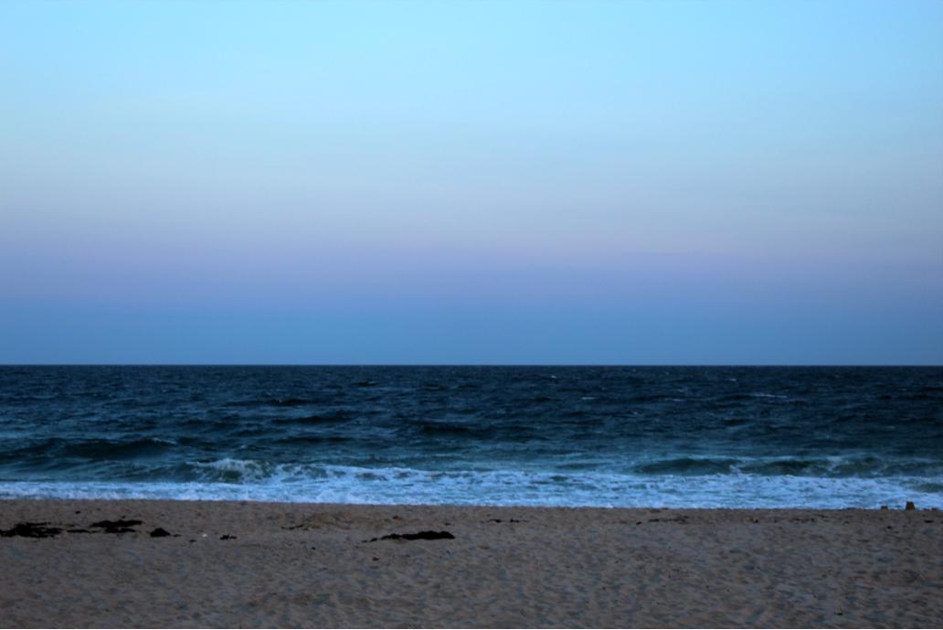 BeachSunsetSwim1