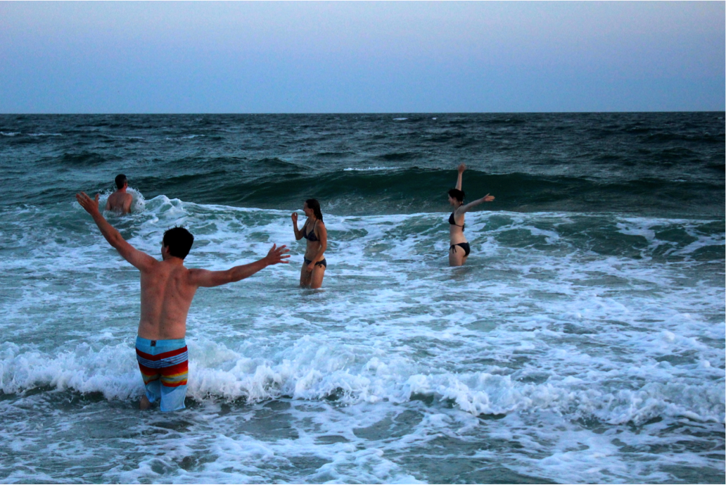 BeachSunsetSwim10