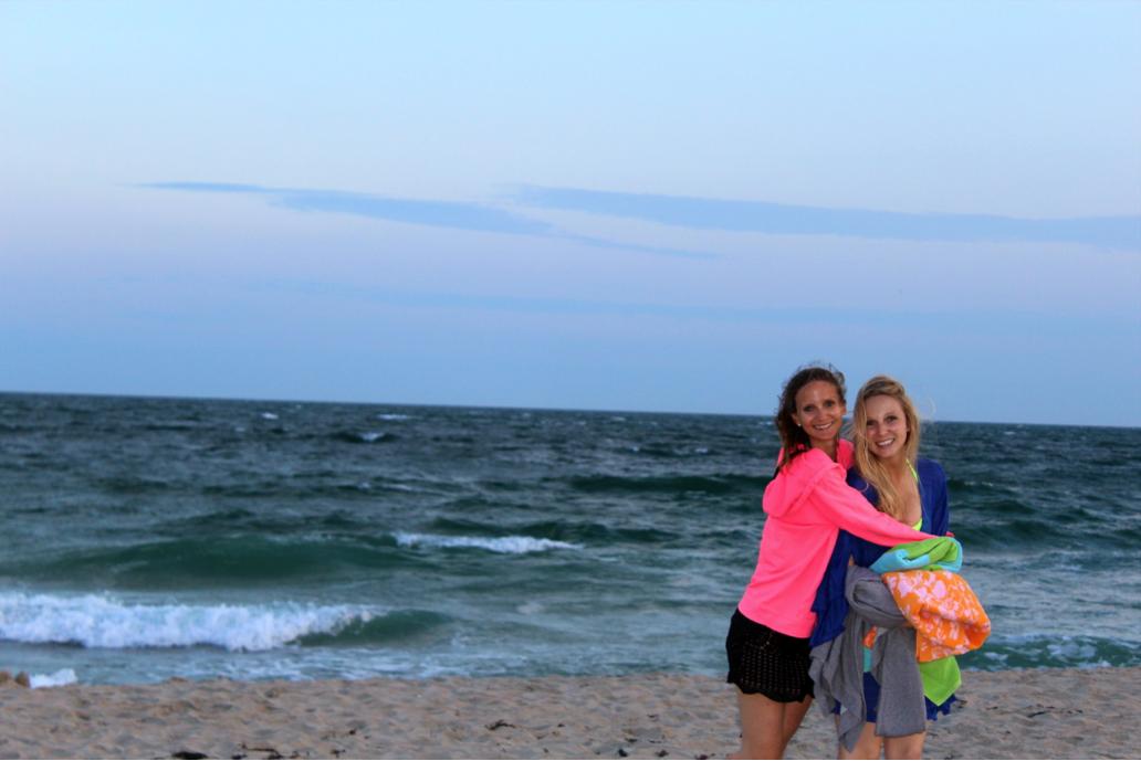 BeachSunsetSwim2