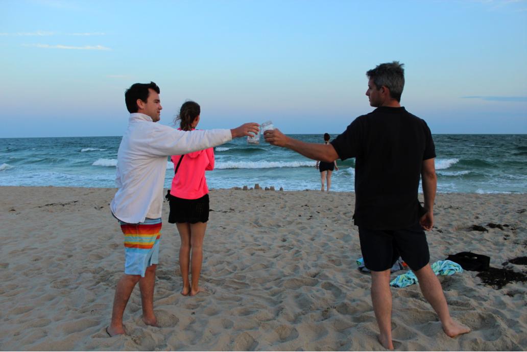 BeachSunsetSwim3