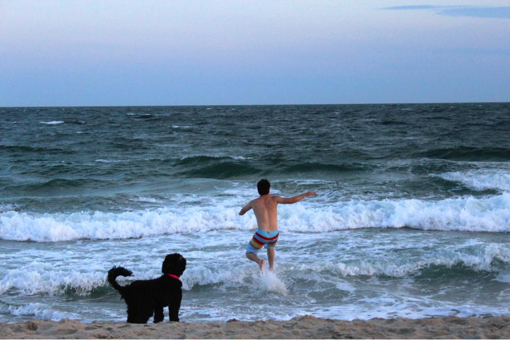 BeachSunsetSwim5